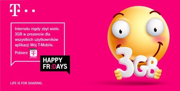 """3 GB do zgarnięcia w """"Mój T-Mobile"""""""