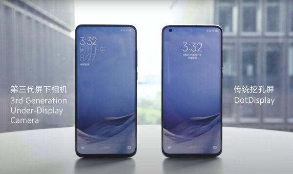 Smartfony Xiaomi z aparatem pod ekranem już w przyszłym roku!