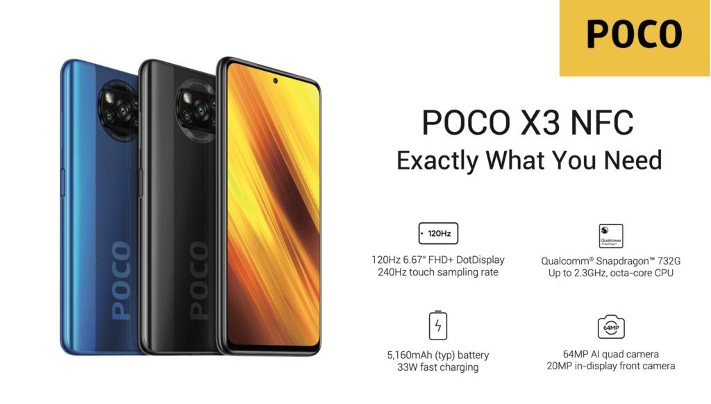 POCO X3 NFC (Xiaomi)