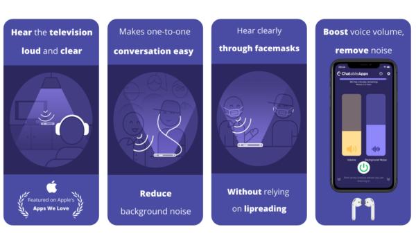 """Aplikacja """"Chatable – Hear Better"""" dla niedosłyszących"""