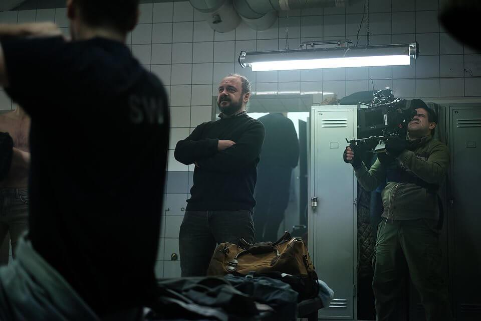 """Zdjęcie z planu serialu """"Klangor"""" fot. Marcin Makowski"""