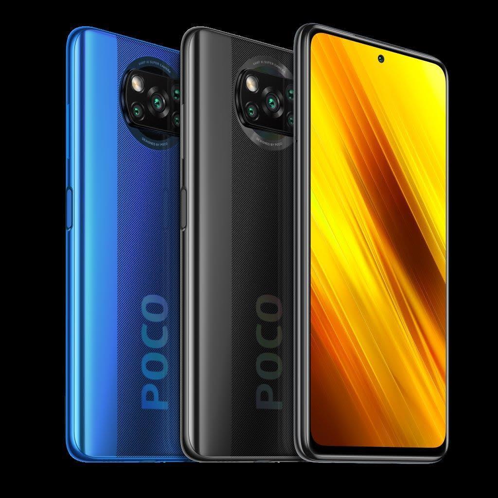 POCO X3 NFC (niebieski i czarny)