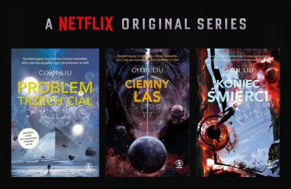 """Netflix zekranizuje """"Problem trzech ciał"""""""
