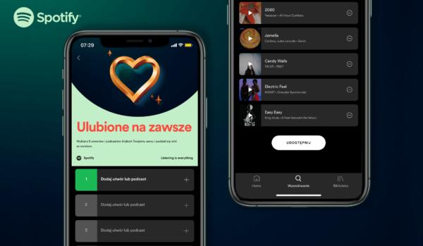 """""""Ulubione na zawsze"""" w Spotify – podziel się 5 utworami"""
