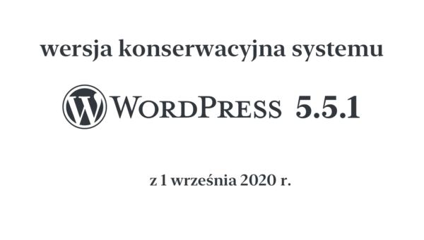 WordPress 5.5.1 naprawia miliony uszkodzonych witryn