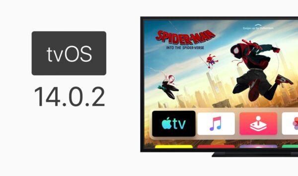 Aktualizacja tvOS 14.0.2 dla Apple TV HD i 4K