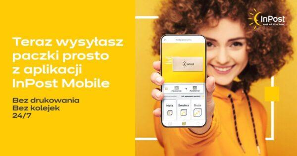 Teraz nadasz paczkę przez InPost Mobile bez drukowania etykiety