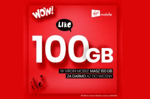 Nowy pakiet #GIGAMAKS na kartę i 100 GB do wiosny w Virgin Mobile