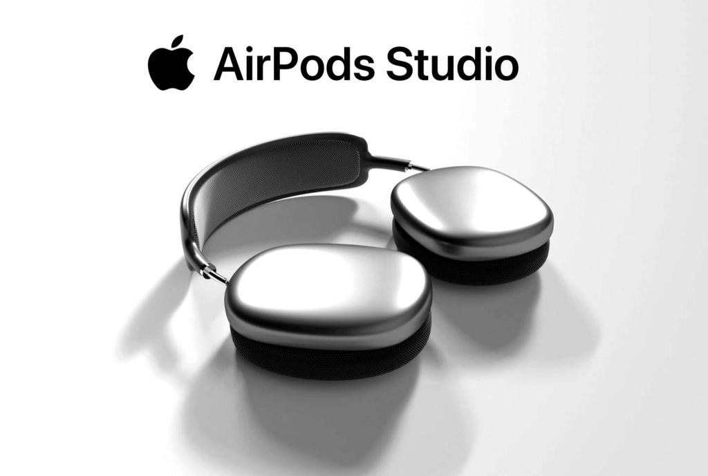 Koncepcja słuchawek AirPods Studio