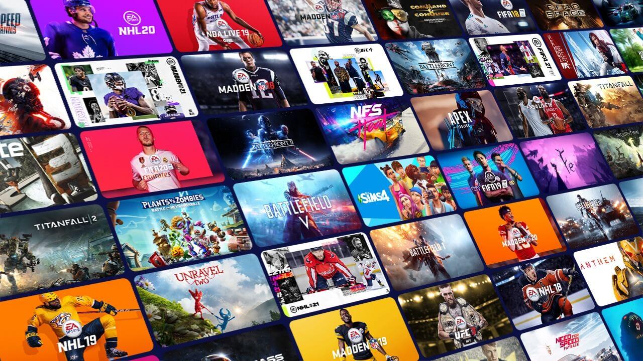 Karty tytułowe gier Xbox Game Pass